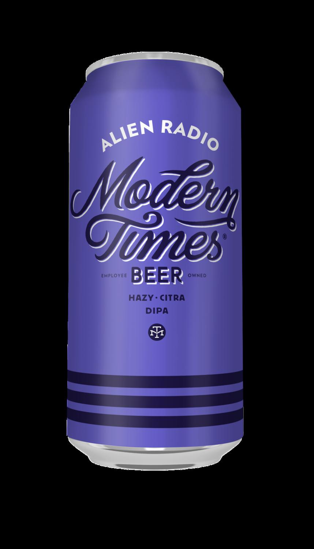 Modern Times Alien Radio Hazy DIPA