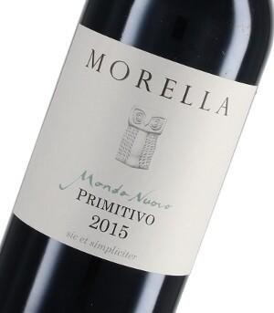 2015 Morella Mondo Nuovo Primitivo Salento IGT