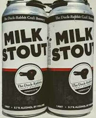 Duck Rabbit Milk Stout 4pk-16oz Cans