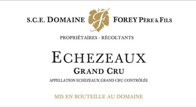2017 Domaine Forey Père et Fils Echezeaux Grand Cru