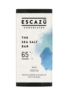 Escazu Sea Salt Chocolate Bar