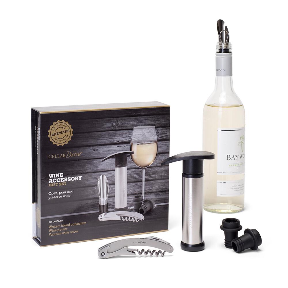 Cellardine Wine Accessory Gift Set
