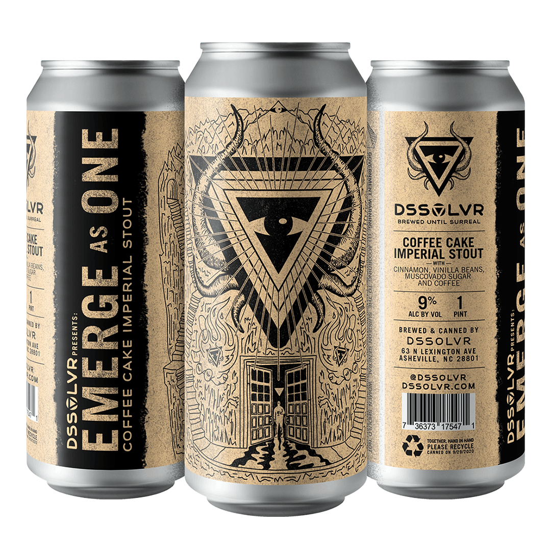 DSSOLVR Emerge as One Imperial Stout
