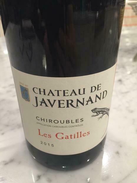 Chateau de Javernand Chiroubles Les Gatilles 2017