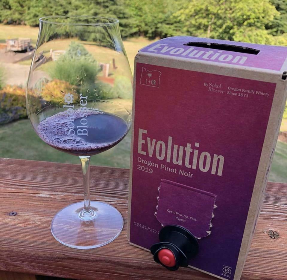 Sokol Blosser Evolution Pinot Noir 1.5L Box