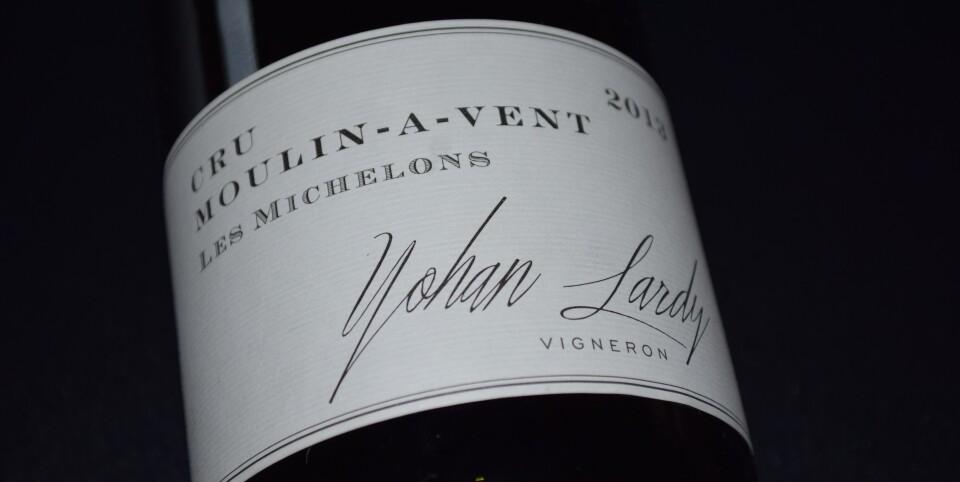 Yohan Lardy Les Michelons Cru Moulin-à-Vent 2018