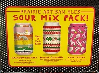 Prairie Sour Ale Mix 12pks