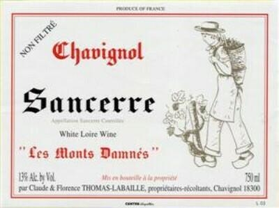 Thomas Labaille Chavignol Les Monts Damnes 2019