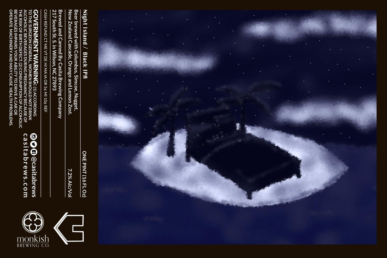 Casita Night Islands Black IPA