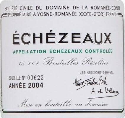 DRC Domaine de la Romanee-Conti Echezeaux 2017