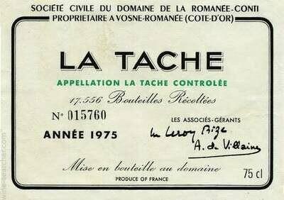 DRC Domaine de la Romanee-Conti La Tache 2017