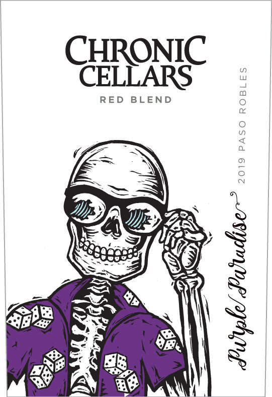 Chronic Cellars Purple Paridise Red Blend 2019