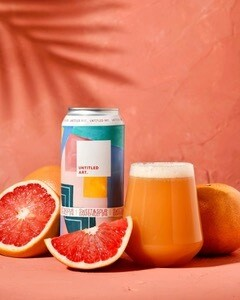 Untitled Art Sweet & Sour Grapefruit/Pineapple IPA