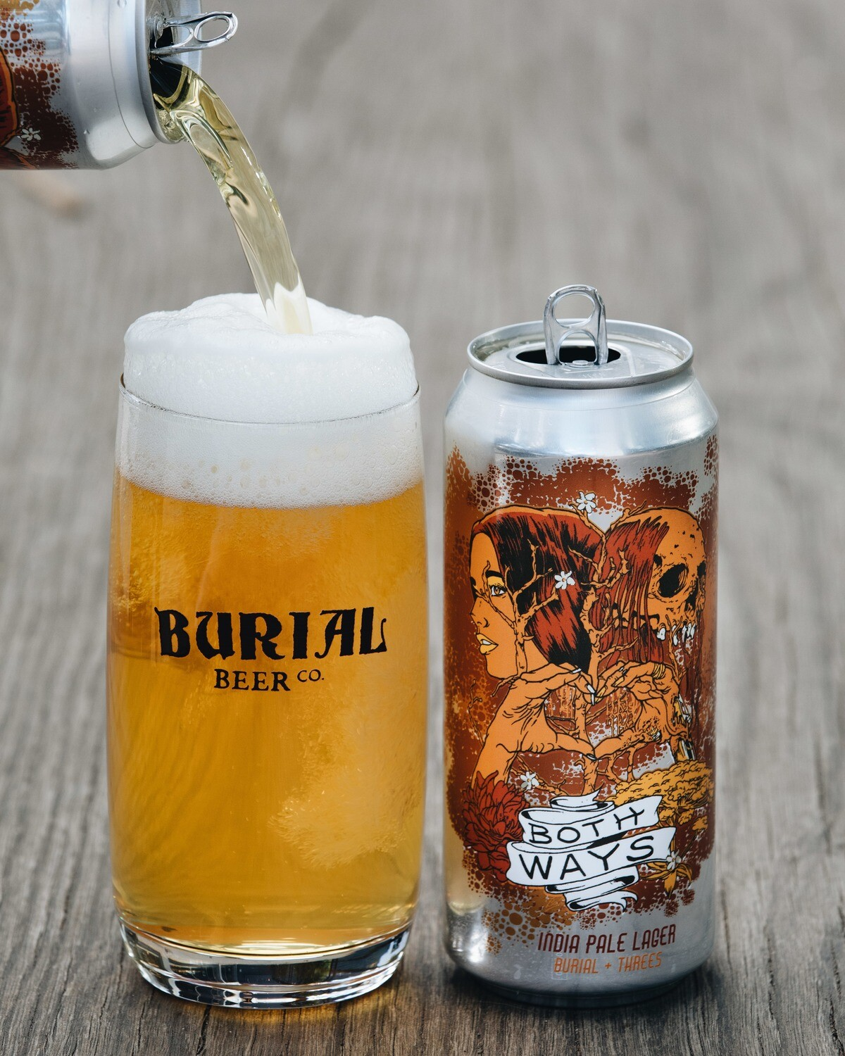 Burial Both Ways India Pale Lager