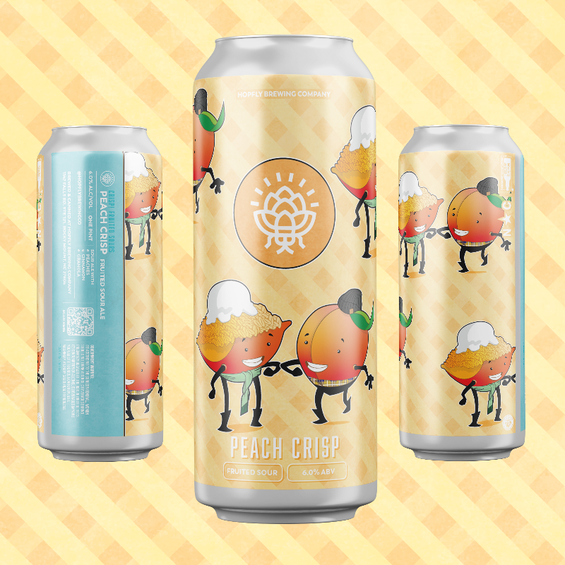 Hopfly Peach Crisp Blender Sour Ale