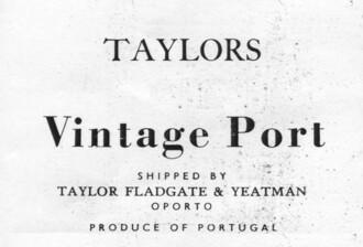 Taylor Fladgate Vintage Port 2017