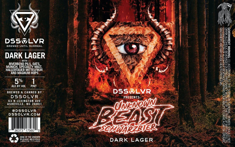 DSSOLVR Unknown Beast Schwarzbier