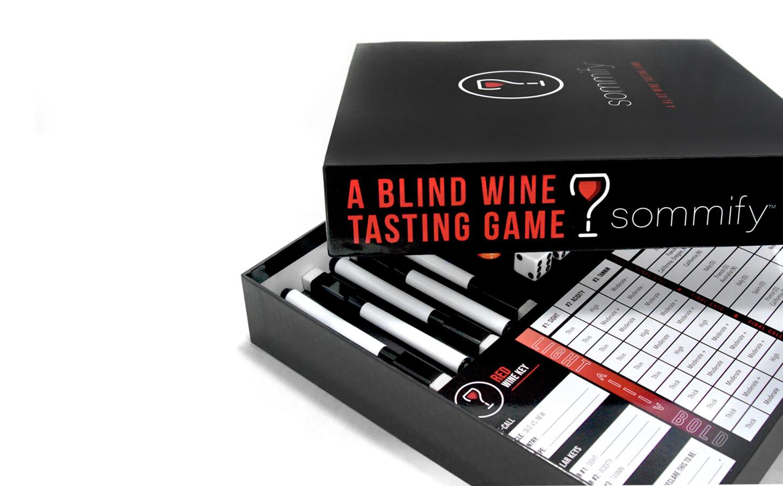 Sommify A Blind Wine Tasting Game