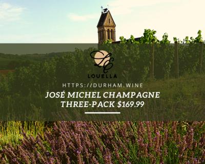 José Michel Champagne Three-Pack