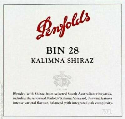 2018 Penfolds Kalimna Shiraz Bin 28