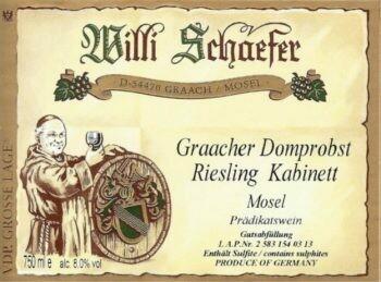 Weingut Willi Schaefer Graacher Himmelreich Riesling Kabinett 2019