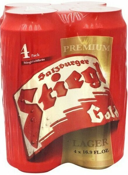 Stiegl Goldbrau Lager 4pk Cans
