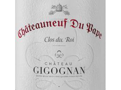 Chateau Gigognan Clos du Roi Chateauneuf du Pape Blanc 2018