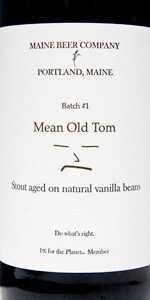 Maine Brewing Mean Old Tom Stout 500ml