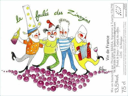 Philippe Badea La Foulee des Zinzins Rouge 2019
