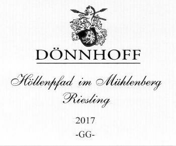 Donnhoff Hollenpfad im Muhlenberg Riesling GG 2019