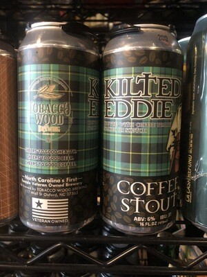 Tobacco Wood Kilted Eddie Coffee Stout 4pk
