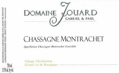 Paul Jouard Chassagne-Montrachet Blanc 2018