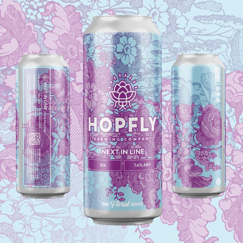 Hopfly Next In Line IPA 4pk
