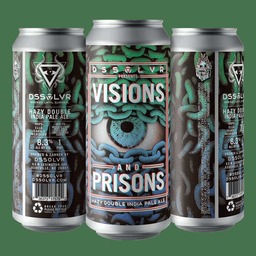 DSSOLVR Visions & Prisons Hazy DIPA
