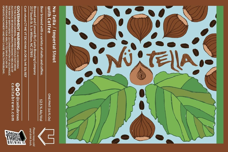 Casita Nu-Tella Imperial Stout with Hazelnut Coffee 4pk