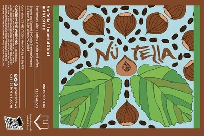 Casita Nu-Tella Imperial Stout with Hazelnut Coffee 4pk
