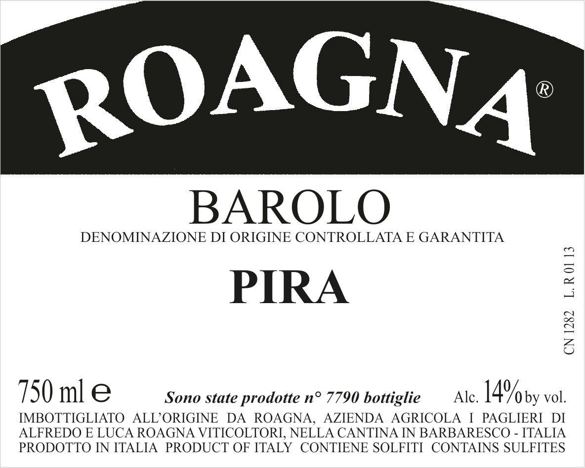 ROAGNA Barolo La Pira 2015