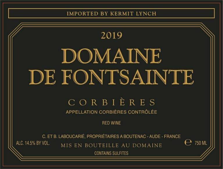 Domaine de Fontsainte Corbieres Rouge 2019