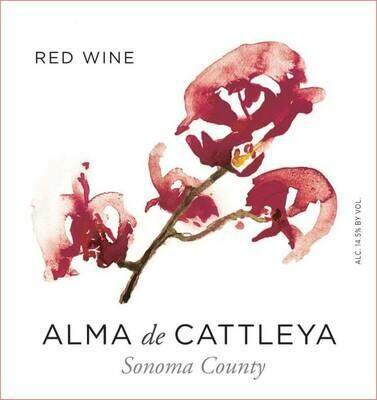 Alma de Cattleya Sonoma Red Blend 2018