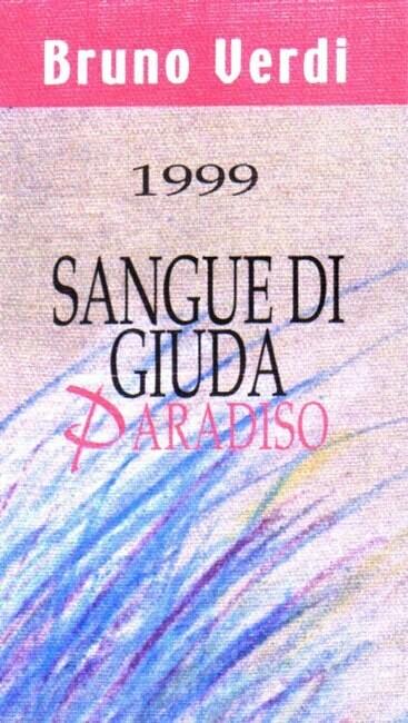 Bruno Verdi Sangue di Giuda Vigna Paradiso 2019