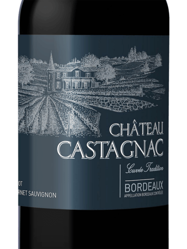 Chateau Castagnac Cuvee Tradition 2016 Bordeaux