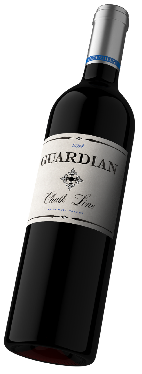 """Guardian """"Chalk Line"""" 2017 Columbia Valley Red Blend"""