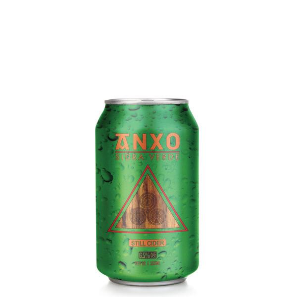 Anxo Sidra Verde Still Cider 4pk