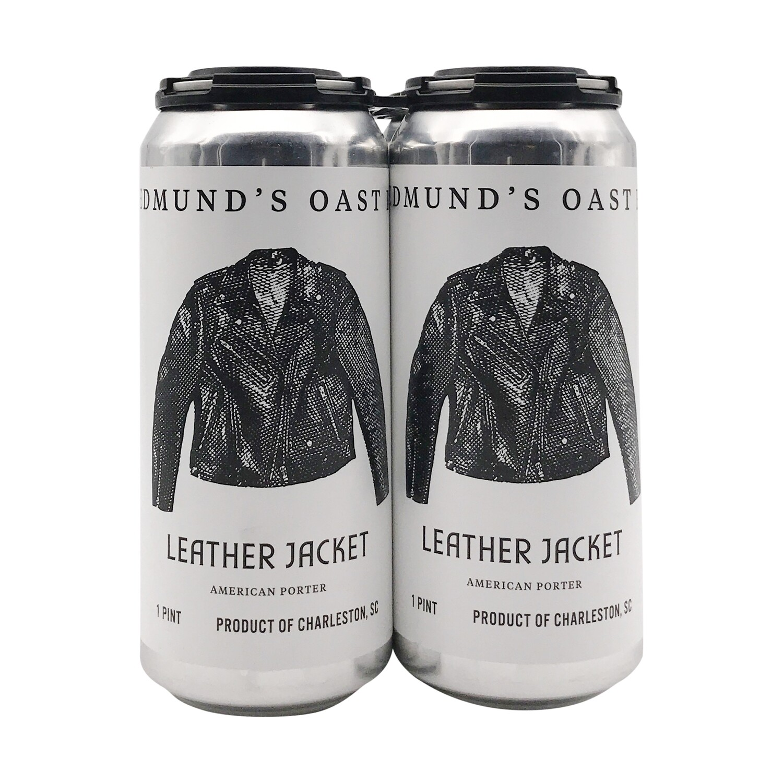 Edmunds Oast Leather Jacket Porter 4pk