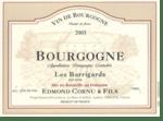 Edmond CORNU & Fils Les Barrigards Bourgogne Rouge 2018