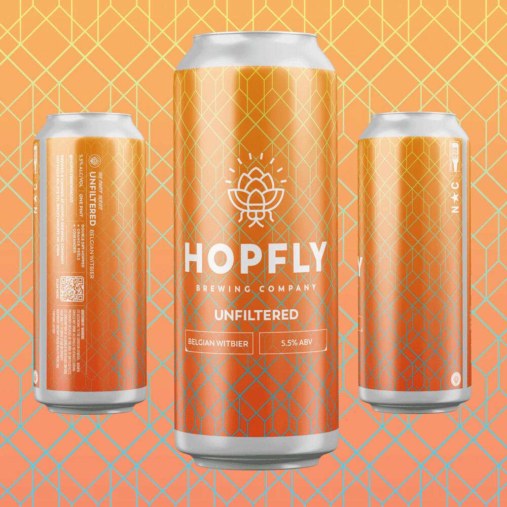 Hopfly Unfiltered Belgian Wit 4pk