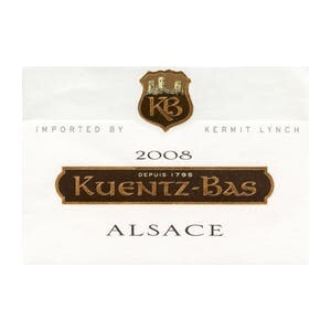 Kuentz-Bas Alsace White 2019