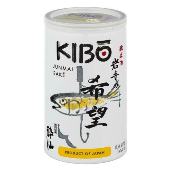 Kibo Junmai Sake 180mL