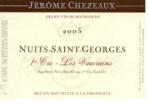 """Jerome Chezeaux """"Les Vaucrains"""" Nuit Saint Georges 1er Cru 2017"""