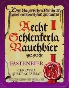 Aecht Schlenkerla Rauchbier Fastenbier 4pk